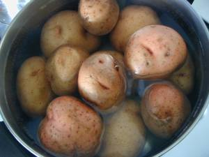 growing potatoes from eyes